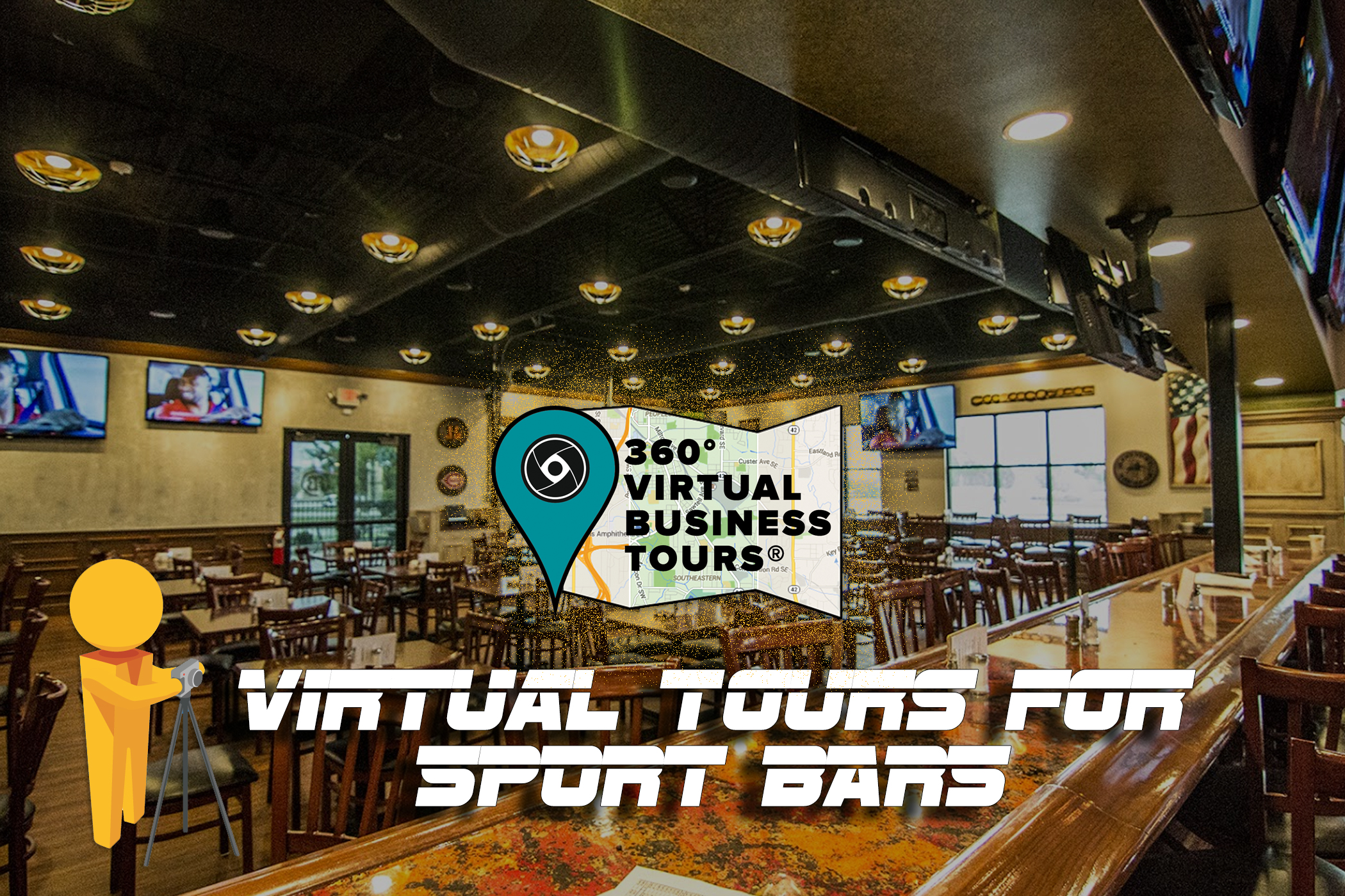 virtual tours for sports bar