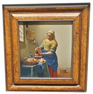The milkmaid by Vermeer
